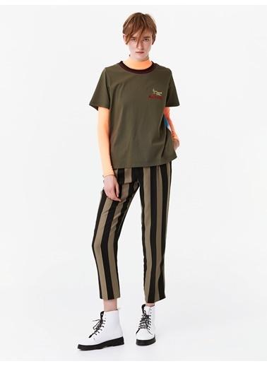 Twist Tişört Haki